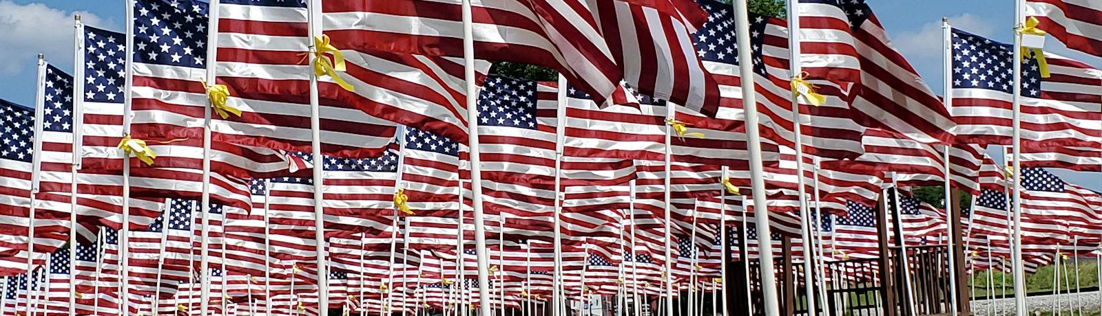 American Flags - American Legion Post 281